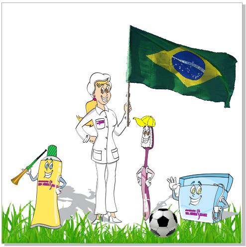 Odonto Arte Copa do Mundo 2014